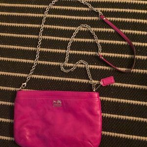 COACH small cross body purse